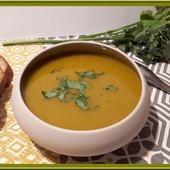Soupe de potimarron et lentilles Corail - Oh, la gourmande..