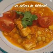 Chorba au poulet,tomate et pois chiches - Le blog de lesdelicesdethithoad