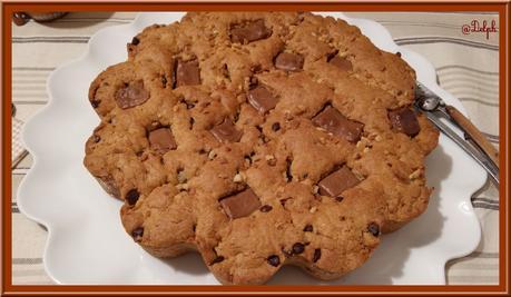 Cookie géant au praliné