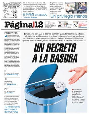L'Argentine n'est pas une poubelle! [Actu]