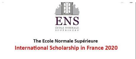 Bourse Pour Étudiants À ENS International 2021