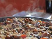 poêle paella, machine adaptée pour cuisson paella