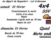 Rando 4X4, SSV, moto quad, l'association Riders février 2020, Téléthon 2019