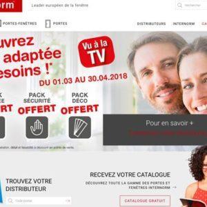 Cas d'école : Internorm, de la création d'un site web à l'accompagnement stratégique pour ses premières apparitions en TV nationale