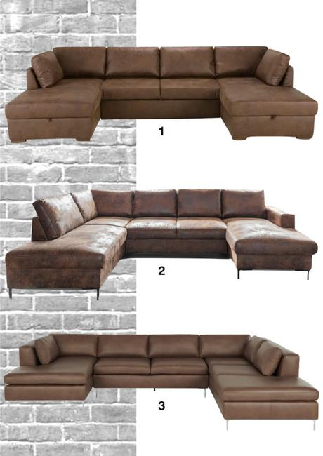 shopping liste canapé en cuir panoramique style industriel - blog déco - clematc