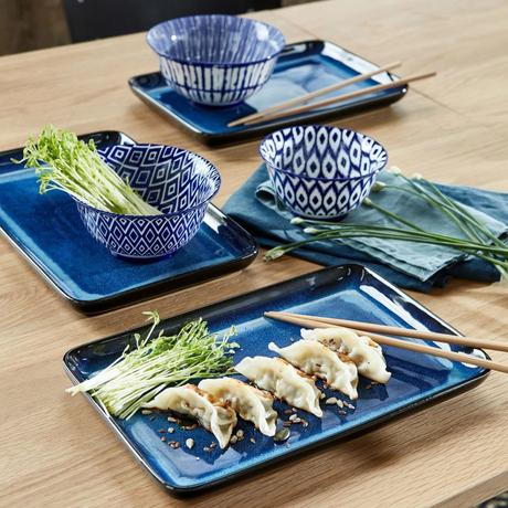 soldes hiver 2020 chez la redoute collection vaisselle bleue moderne japonaise