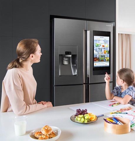 réfrigérateur samsung familyhub électroménager hi tech - clemaroundthecorner