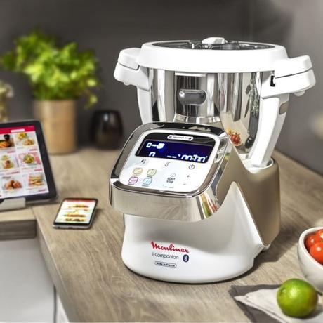 moulinex i-companion cuisine tablette connectée hi-tech - blog déco - clematc