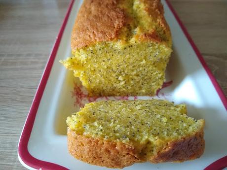Cake au citron / pavot