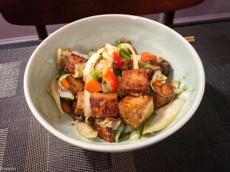 Chinese hot – Tofu pimenté au chou chinois