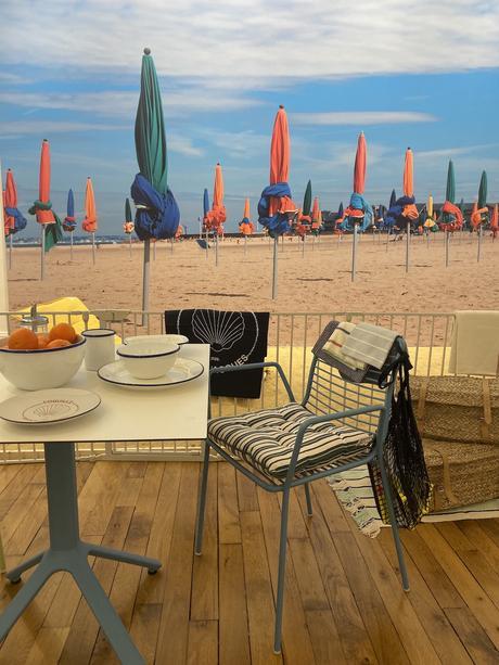 art de la table vaisselle tendance bord de mer coussin - blog déco - clemaroundthecorner