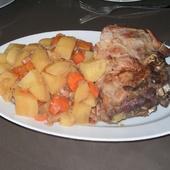 Rôti de porc à la moutarde au cookéo - Le blog de kekeli