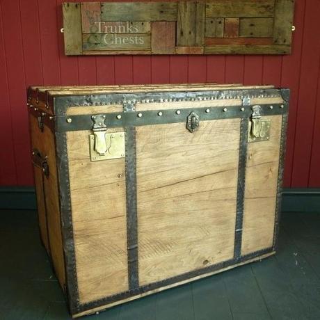 trunk dresser steamer trunk style dresser