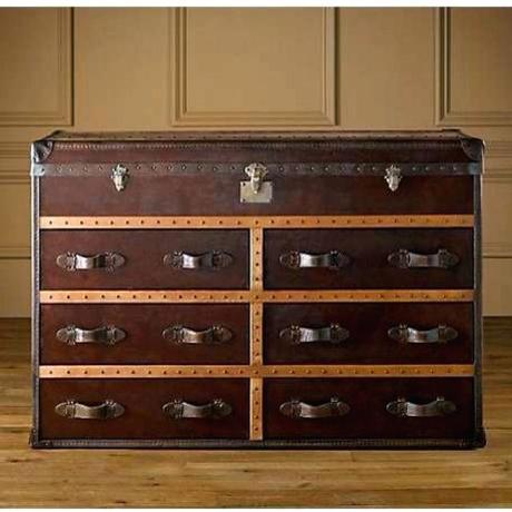 trunk dresser trunk style dresser