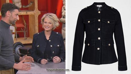 AFFAIRE CONCLUE : la veste boutonnée de Sophie