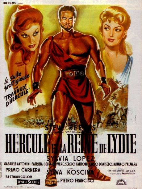 Hercule et la Reine de Lydie (1959) de Pietro Francisci