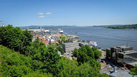 quoi faire Québec vue fleuve
