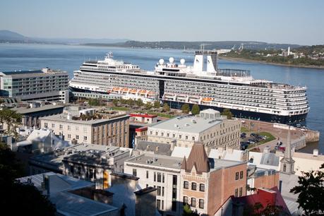 escale à Québec bateau de croisière