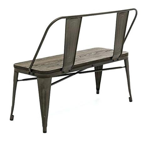 industrial dining bench industrial dining room bench