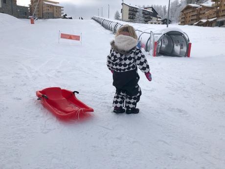 Partir au ski (Tignes Les Brévières) avec un enfant de 3 ans