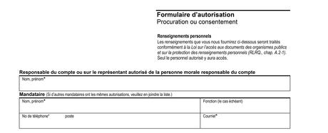 Aide formulaire   Hydro-Québecc