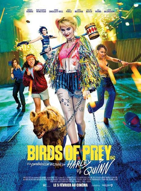 Birds of Prey et la fantabuleuse Histoire de Harley Quinn (2020) de Cathy Yan
