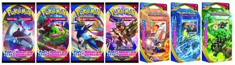 La première extension de la série Épée et Bouclier du JCC Pokémon est disponible