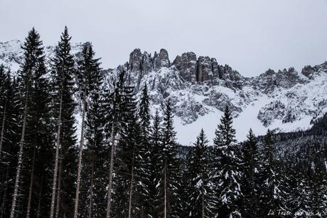 Lac de Carezza Dolomites : 1er spot de mon road-trip en van