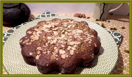 Gâteau à l'amande et pistache