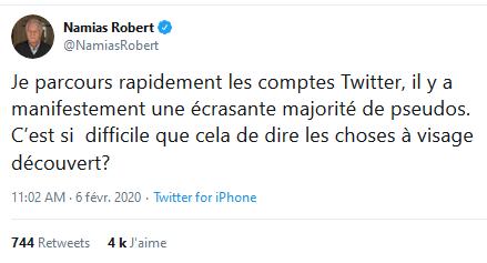 le droit à l'anonymat est constitutif des droits humains, Robert (Je répète EN PARLANT FORT…) #OKBoomer