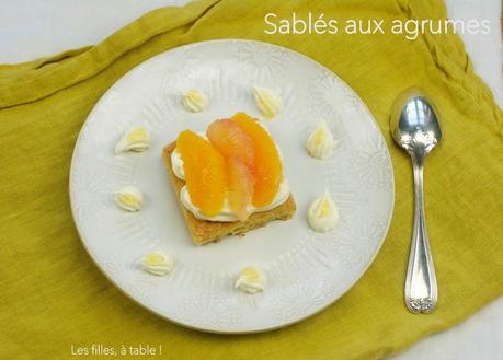 Sablé breton aux agrumes