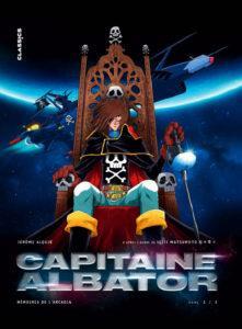 Capitaine Albator, Mémoires de l'Arcadia T1 (Alquié) – Kana – 11,99€