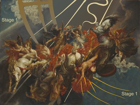 Rubens 1604-05 The-Fall-of-Phaeton NGA etat 1