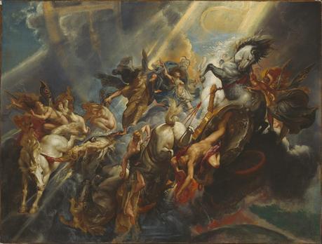 Rubens 1604-05 The-Fall-of-Phaeton NGA