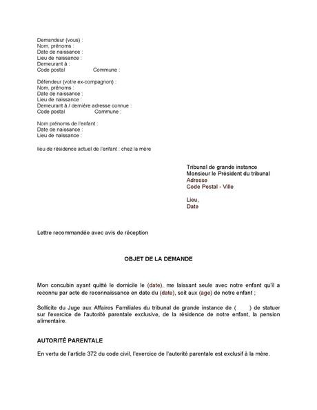 PDF] Attestation Pour Garde Alternee