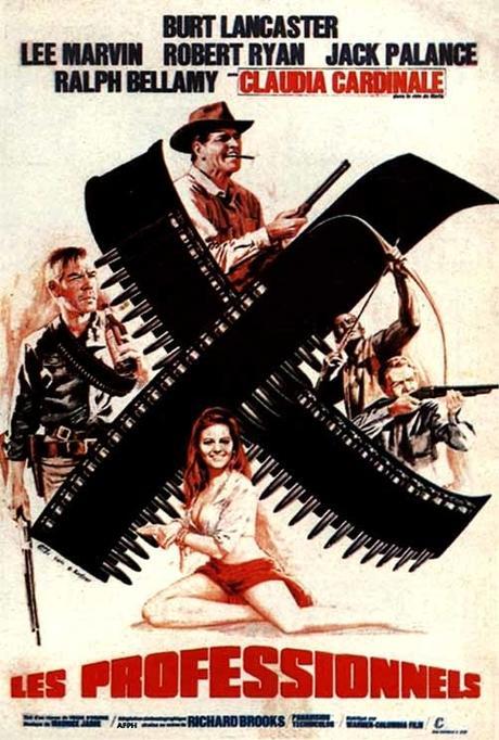 Les Professionnels (1966) de Richard Brooks