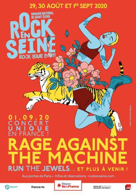 ROCK EN SEINE – Rage Against The Machine