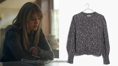 Locke & Key : Kinsey's multicoloured sweater in S1E01