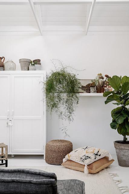 Australie / Nouvelle maison de vacances décorée par Lynda Gardener /