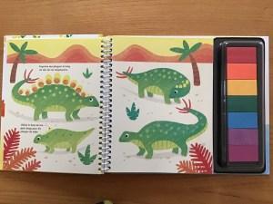 Fiona Watt / Dessine avec les doigts : Les Dinosaures