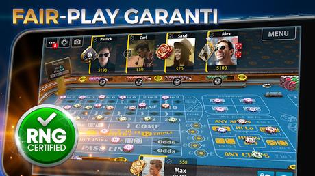 Télécharger Gratuit Vegas Craps par Pokerist APK MOD (Astuce) 1