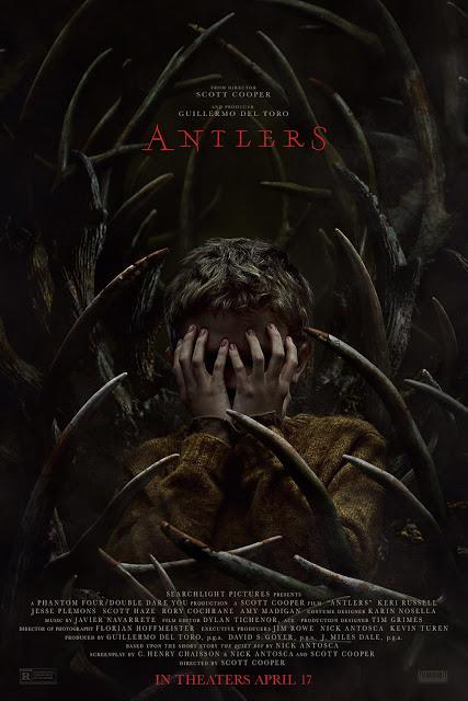 Nouvelle affiche US pour Antlers de Scott Cooper