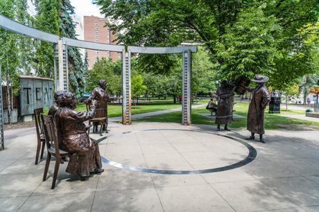 Famous Five Statue