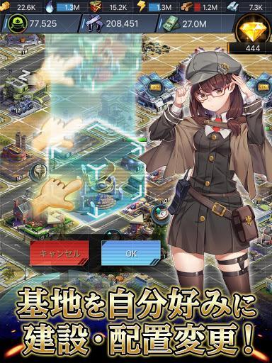 Télécharger ラストエスケイプ : シェルターを取り戻せ!美少女 ✕ ゾンビ サバイバルストラテジーゲーム APK MOD (Astuce) 5
