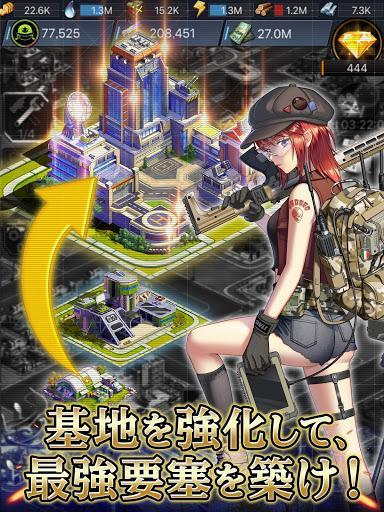 Télécharger ラストエスケイプ : シェルターを取り戻せ!美少女 ✕ ゾンビ サバイバルストラテジーゲーム APK MOD (Astuce) 2