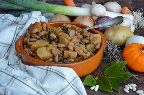 Cassoulet de légumes vegan
