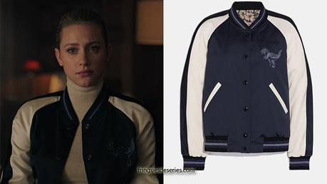 RIVERDALE : Betty's dino print jacket in S4E13