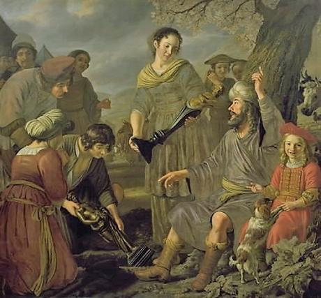 Jan-Victors-1655-1676-Jacob_Burying_the_Pagan_Idols-Statens_Museum_for_Kunst-Copenhague