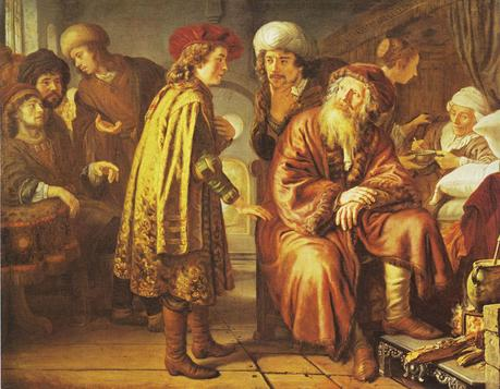 Jan Victors 1651 Joseph Recounting His Dreams Wadsworth Atheneum Hartford