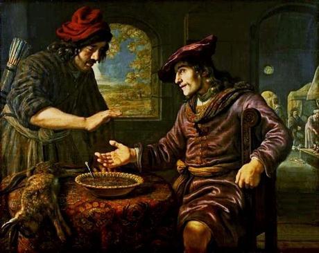 Jan Victors 1653 Esau et le plat de lentlles Muzeum Narodowe Varsovie